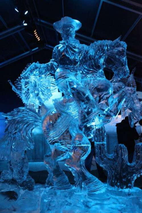 Amazing Ice Sculptures Barnorama