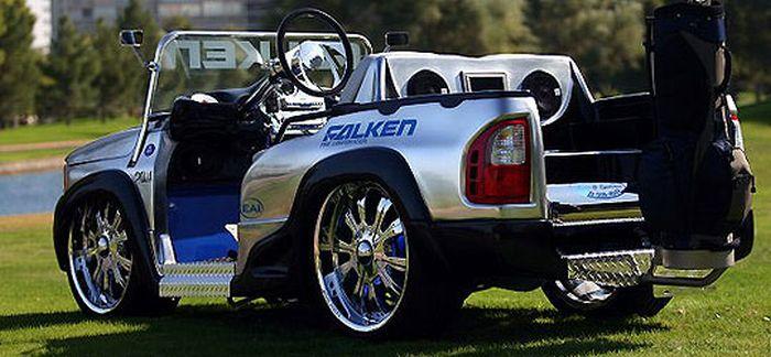 Авто для гольфа своими руками