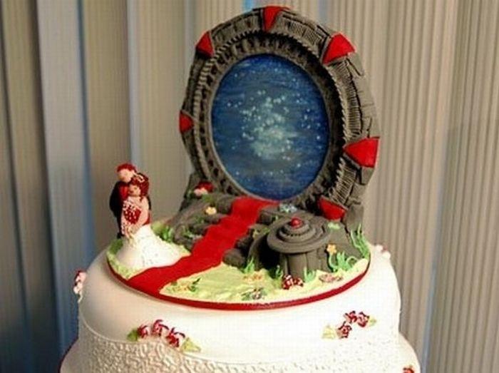 Weird Wedding Cakes Barnorama