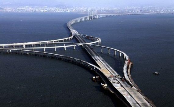 Qingdao Haiwan Bridge is the world   s longest bridge over water  It    Longest Bridge In The World Over Water