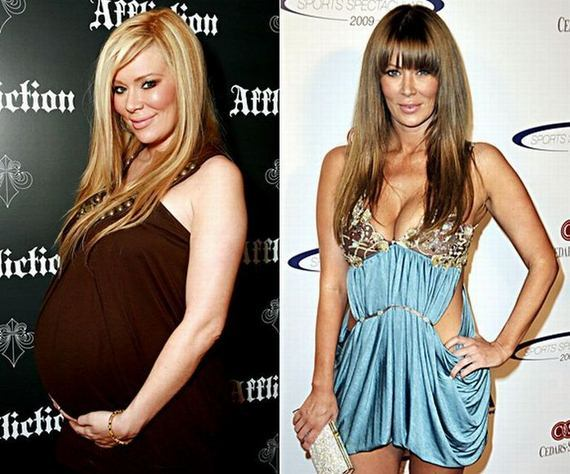 Celebrity Post-Baby Bods -- Before and After | toofab.com