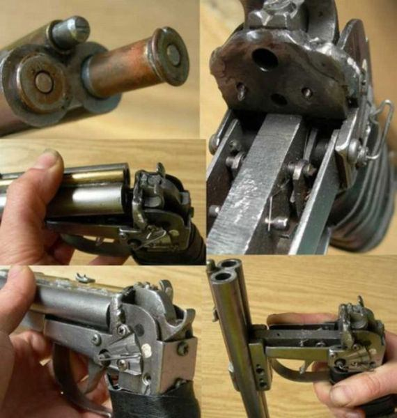 9 More Crazy Weapons: Weird Looking Firearms
