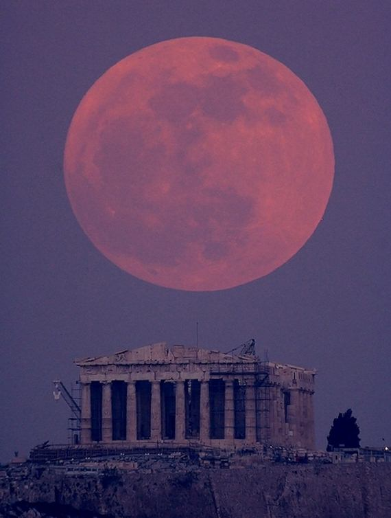 01 The Supermoon From Around The World image gallery