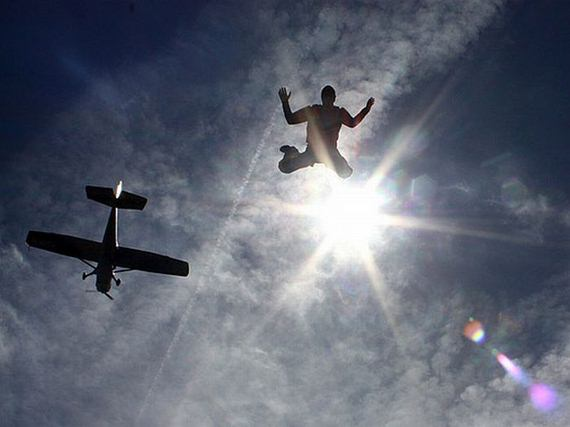 Amazing skydiving pictures