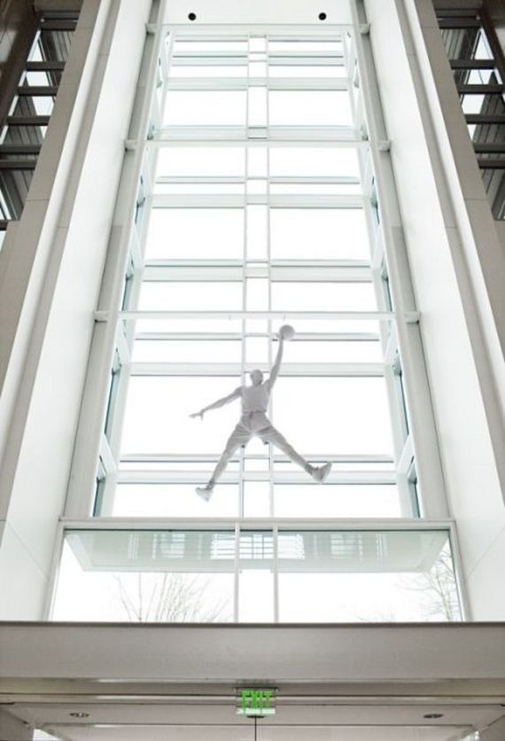 Nike's CEO Mark Parker's Office Barnorama