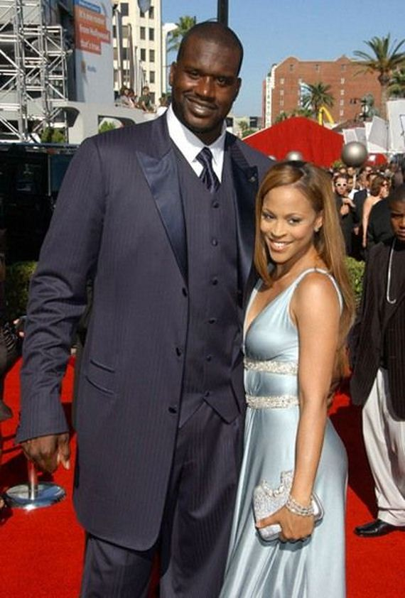 Shaquille O Neal And His Bride Barnorama