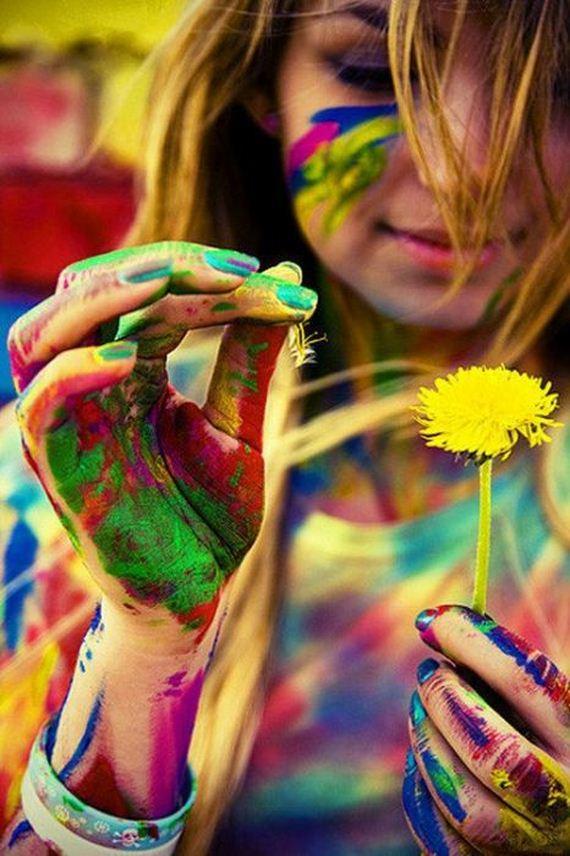Я хочу создавать мир по своему Яркой краской в пространстве Рисовать что бзбредет в мою...
