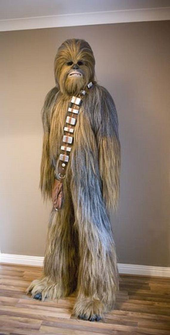 Homemade Star Warss Chewbacca Suit Barnorama
