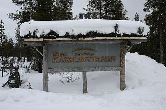 Finlandia, Hotel de lujo a todo hielo