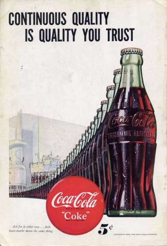 Awesome Vintage Coca-Cola Advertisement Posters - Barnorama