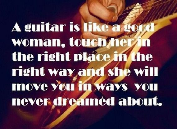 69 - A good woman is like a guitar, or a good guitar is like a woman, whatever... - Love Talk