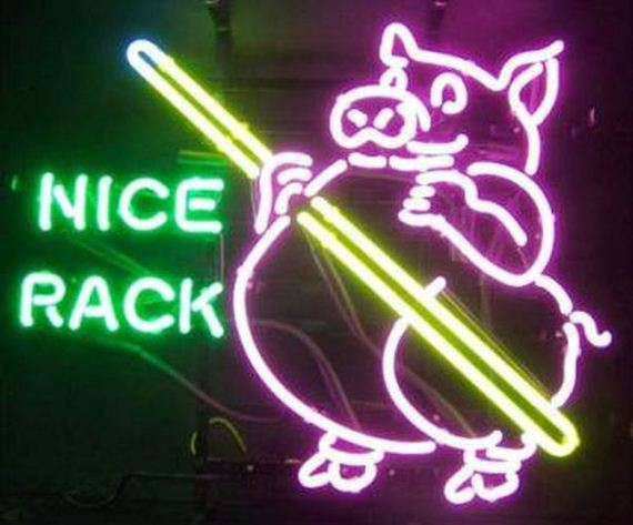 Awesome And Funny Neon Signs Barnorama