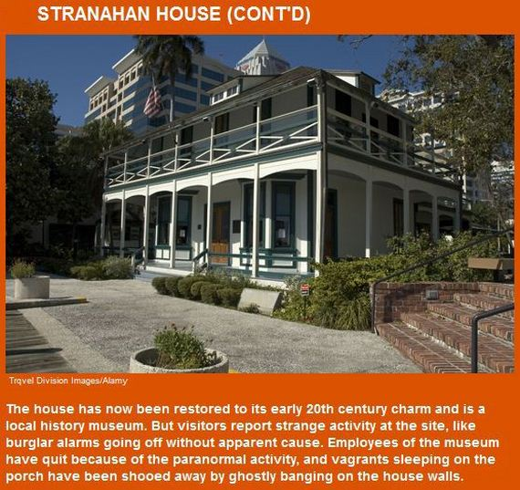 Haunted Places In Usa: Top 10 Haunted Houses In America