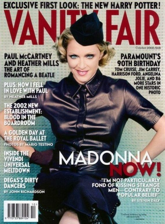 Evolution Of Madonna Magazine Covers  1983-2011