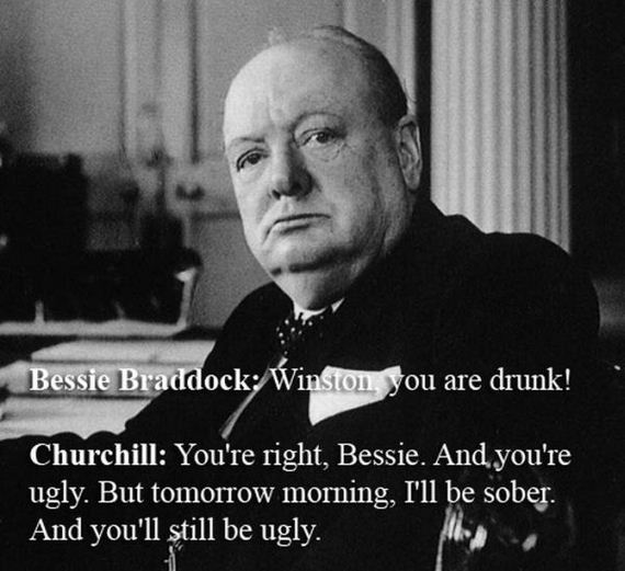 Quote By Winston Churchill: The Wittiest Comebacks Of All Time