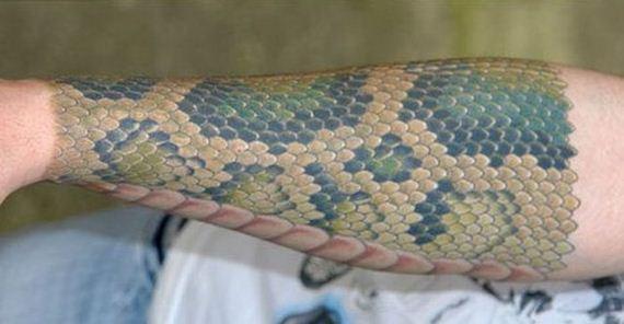 Snake Skin Tattoo - Barnorama