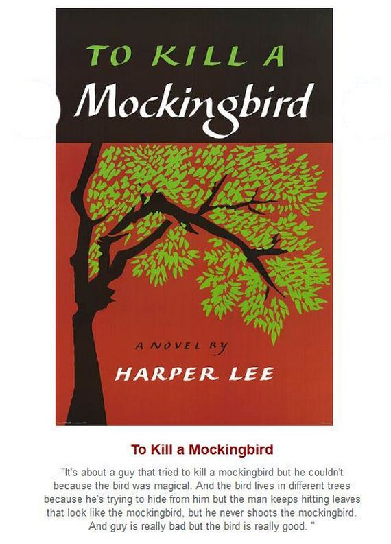 """how harper lee develops the mockingbird All five incorporate at least one of the themes found in """"to kill a mockingbird"""" by harper lee and are kill a mockingbird"""" in which you develop an."""