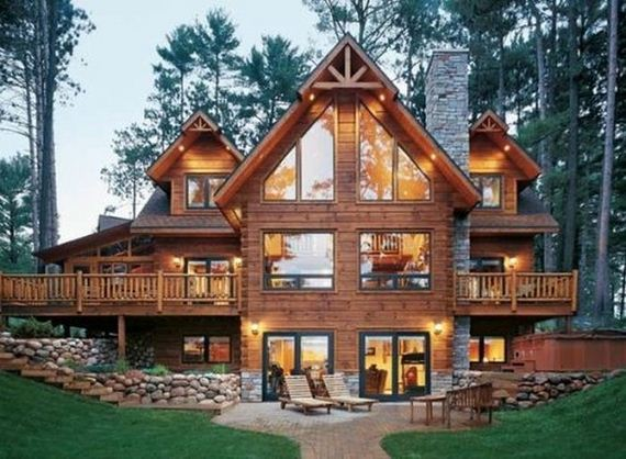 Awesome Log Cabins Barnorama