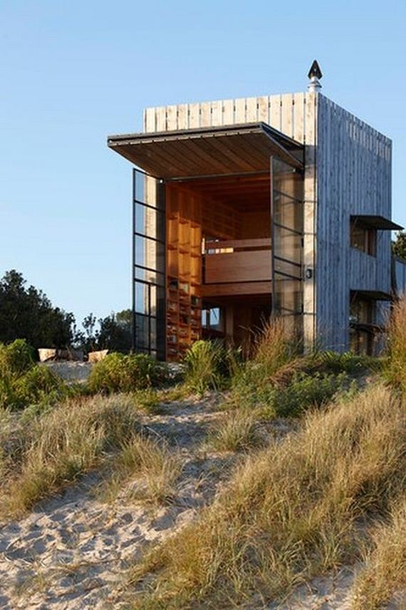 beach house in new zealand barnorama