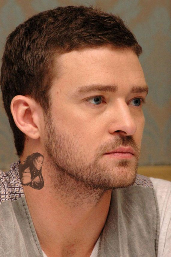 The Best Celebrity Neck Tattoos