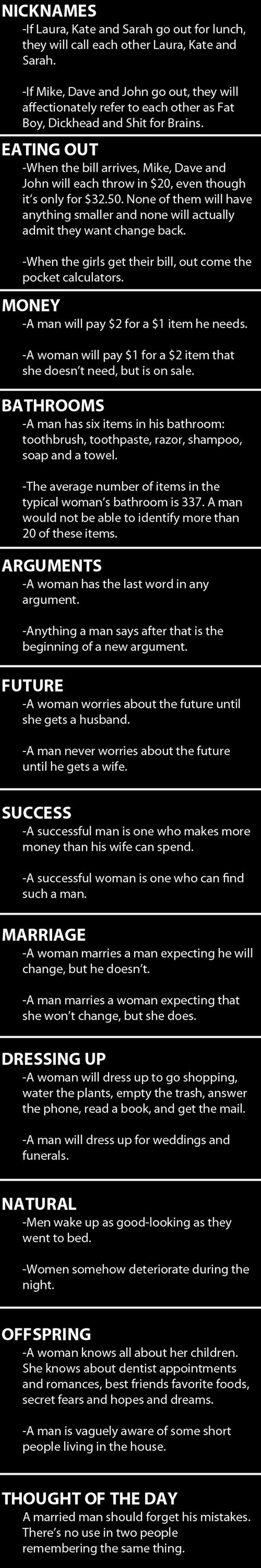 02 - Men Vs. Women Redux - Love Talk
