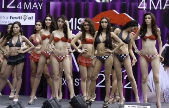 miss ladyboy pageant thailand