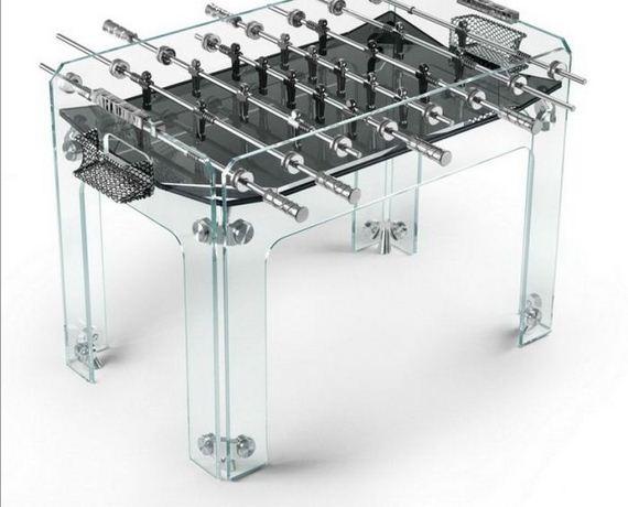 Coffeetable foosball table by teckell barnorama for Football coffee table