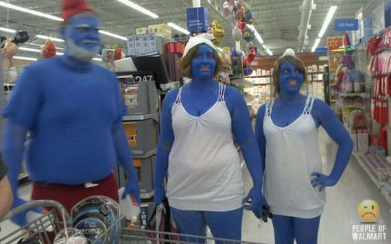 Apologise, people walmart shoppers apologise, too