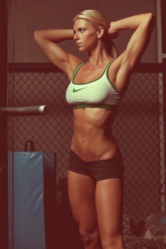 Фото худые спортивные девушки