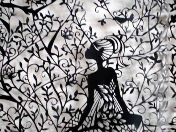 Beautiful paper art by hina aoyama barnorama for Beautiful paper cutting art