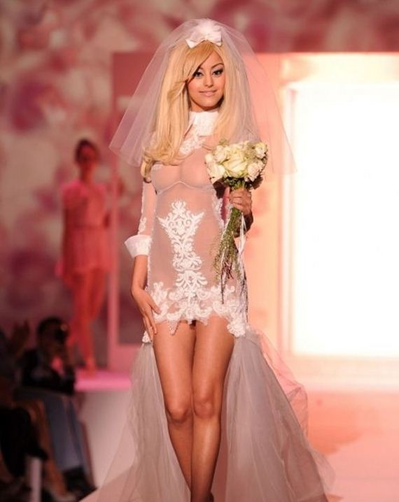 свадебные платья секси фото