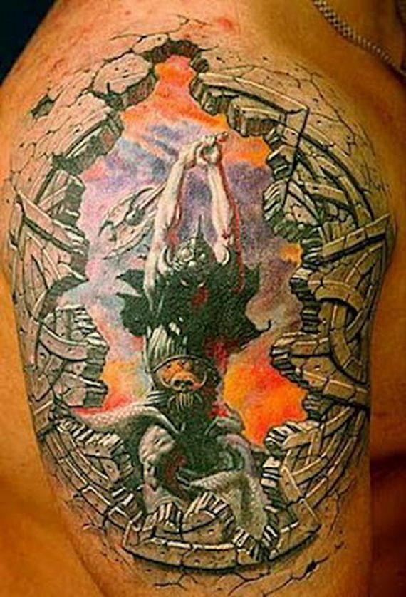 Cool 3D Tattoos - Barnorama
