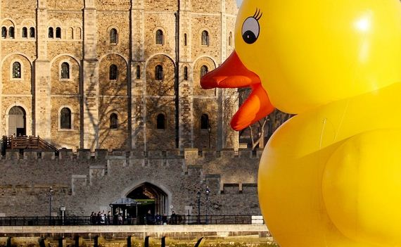 """""""50-foot-rubber-duck-bobs-along-the-river-/"""