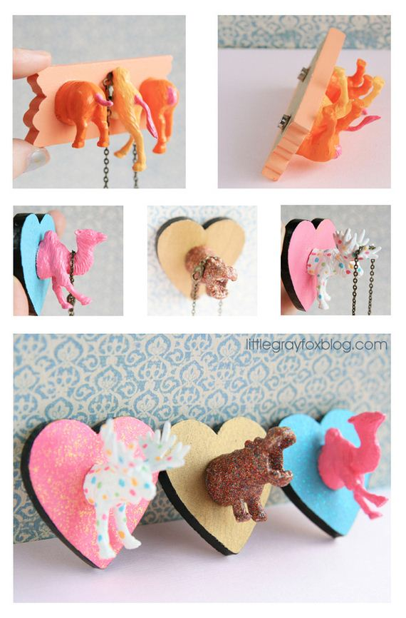 Cool Toys To Make : Cool diys using toy animals barnorama