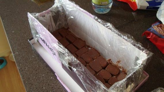 DIY Giant Chocolate Bar