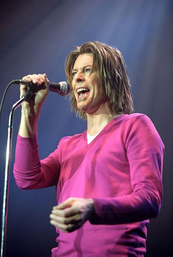 David Bowie Aging Timeline