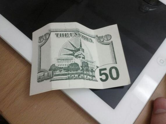 Fifty-Dollar Bill Business Flye