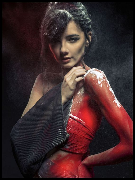 Hot Fashion Model Photography Inspiration For Holi