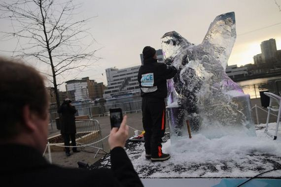 How to Build an Ice Sculpture