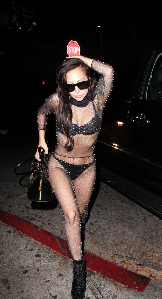 Lady-Gaga-Was-Practically-Naked