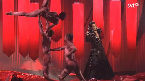 Eurovision nude Nude Photos