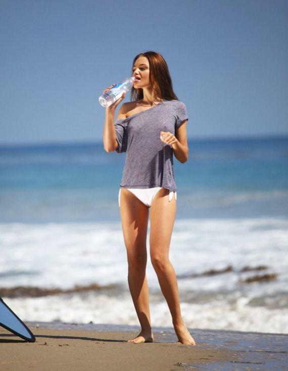 Apologise, but, bikini bottoms and a shirt