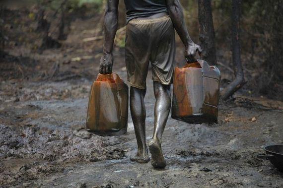 Bunkering de petróleo na Nigéria