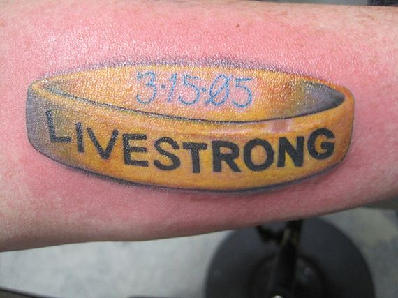 People Who Probably Regret Their Livestrong