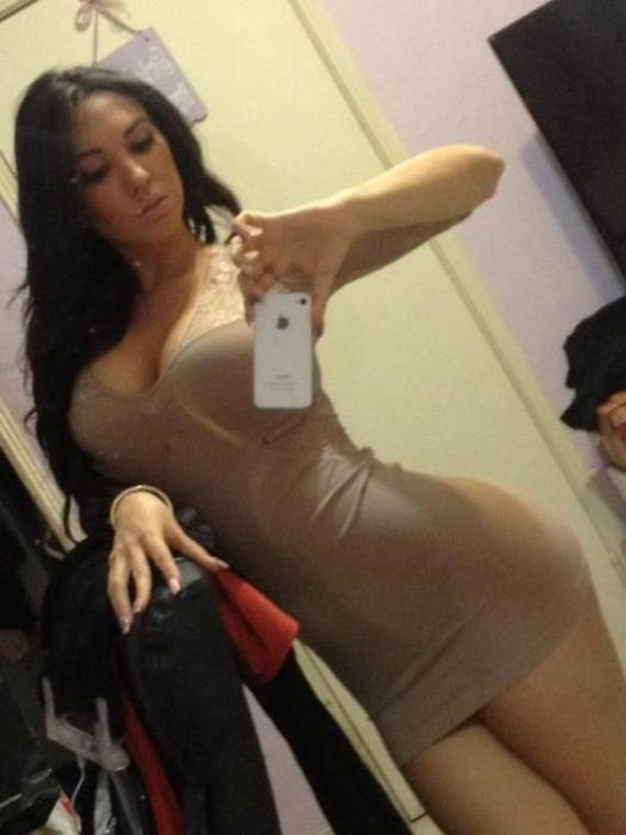 Pretty Girls in Tight Dresses