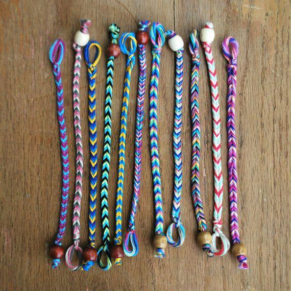 how to make weird bracelets