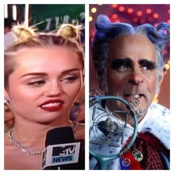 Things Miley Cyrus Looked Like At The 2013 Vmas Barnorama