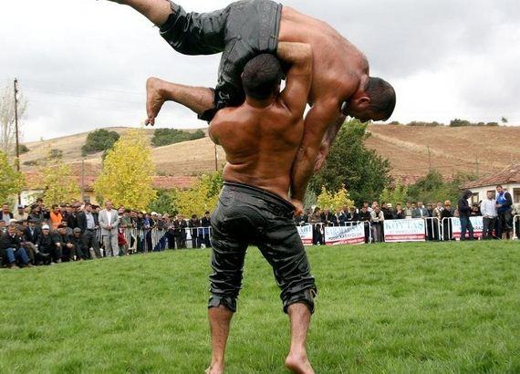 Turkish-Oil-Wrestling