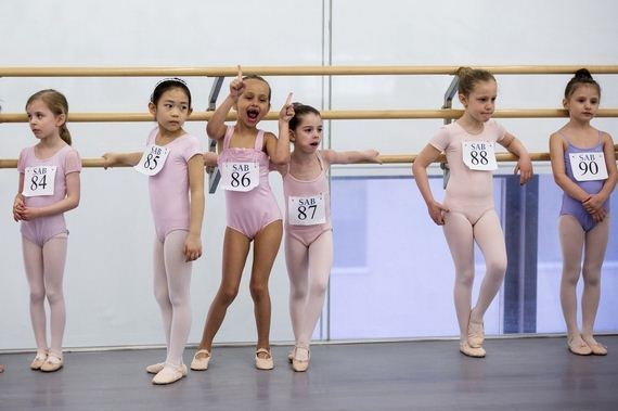 agony-ecstasy-6-Year-old-auditioning- ballet-school