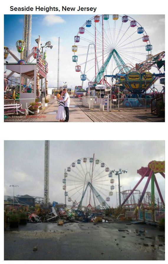 Hurricane Sandy Before And After Before-and-after-hurricane